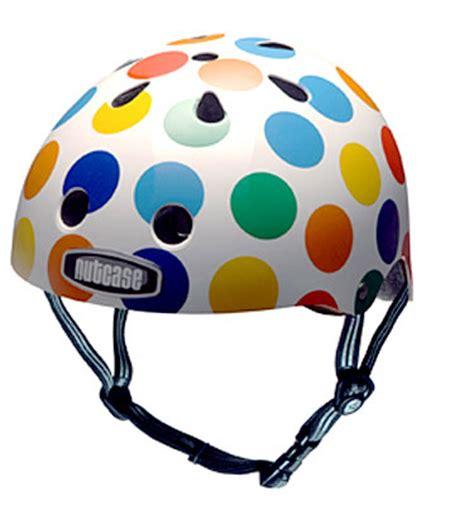 Apparel Nutcase Helmet Lxl Dot bread dots