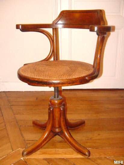 fauteuil bureau bois fauteuil de bureau thonet vers 1930 bois courb 233 pied