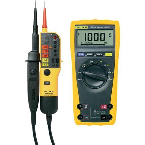 Multimeter Digital Fluke handheld multimeter digital fluke 175 calibrated to manufacturer s standards no certificate