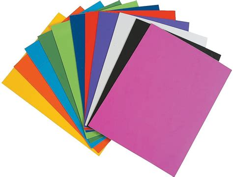 Color Paper Craft - mg foam sheet 10 different color a4 size 2mm thickness