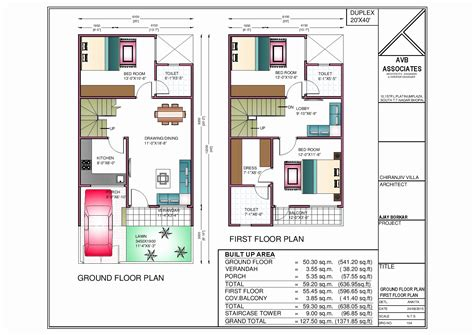 surprising 2 bedroom south facing duplex house floor plans surprising 20 x 40 duplex house plans north facing images