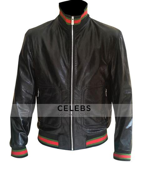 Eminem Jacket | eminem not afraid lyrics gucci bomber leather jacket
