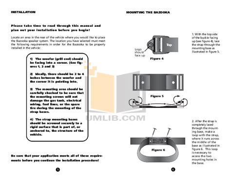 bazooka el series wiring harness bazooka get free image