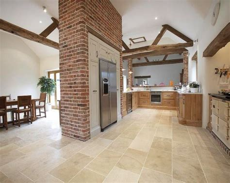Tile In Dining Room And Kitchen Photo Of Matt Exposed Brick Brick Crown