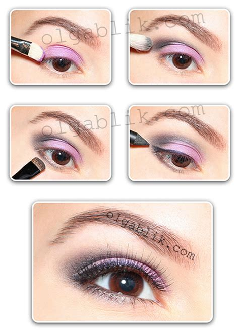 eyeshadow tutorial sephora purple eyeshadow tutorial olga blik