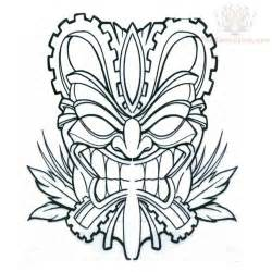 tiki mask clipart clipart suggest