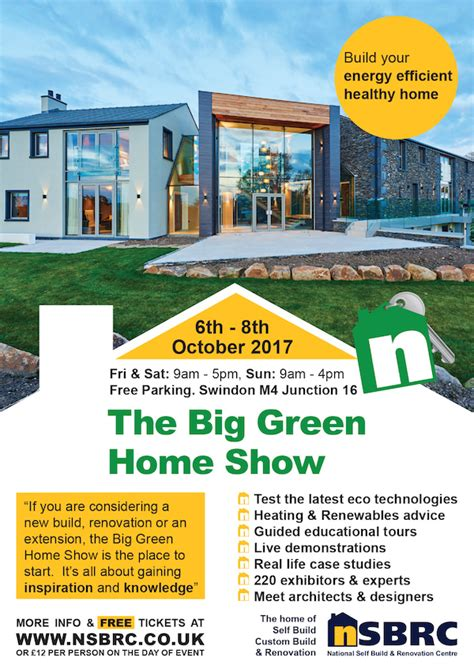 the big green home show 2017 nsbrc