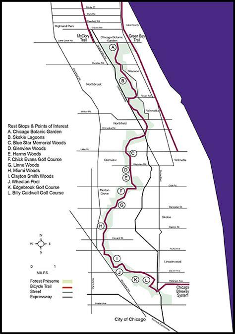 Chicago Botanic Garden Bike Trail Bike To The Garden Chicago Botanic Garden