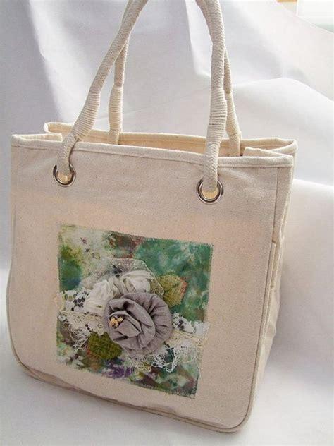 Ef Tas Tote Wanita Flowers Shabby Floral Tote Bag Floral Tote Bags Tote Bag