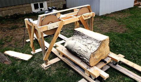 wooden sawmill how to build a wooden bandsaw mill from scratch