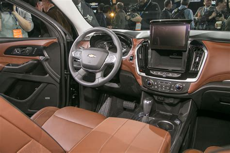 Chevy Traverse Interior Photos by 2018 Chevrolet Traverse Look Going For A Truckier