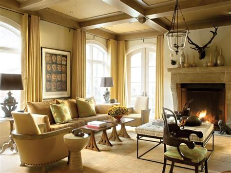 Sitting Rooms With Fireplaces by Traditional Living Space Photos Hgtv