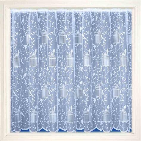 net curtain material uk songbird net curtain fabric white 101cm abakhan
