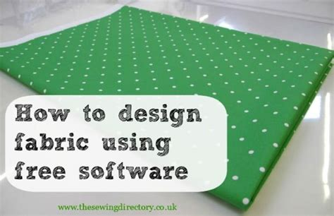 fabric pattern making software how to design fabric using free software sting