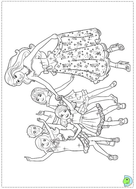 coloring pages of barbie and her sisters barbie and her sisters coloring pages