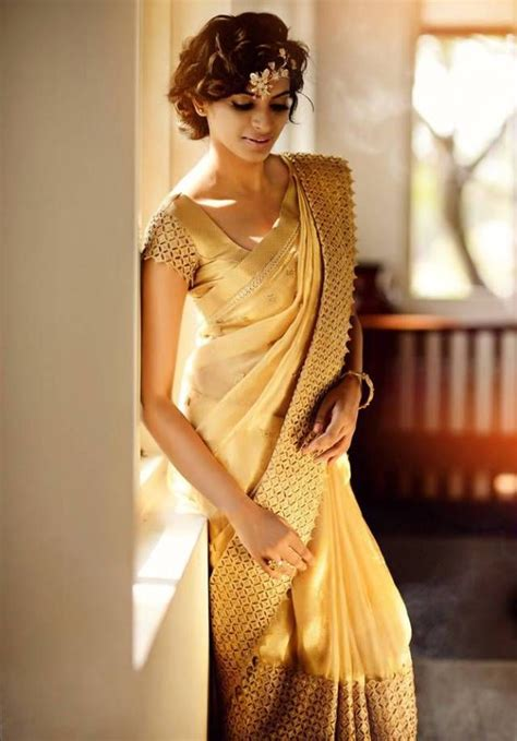 Sari And Gold gold bridal silk saree by silpaa if you find a