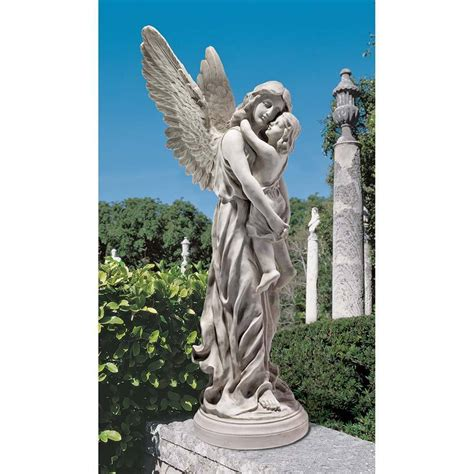 angel sculptures emotional guardian angel and child sculpture kerepesi