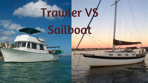 yacht vs sailboat trawler vs sailboat which is better for live aboard and