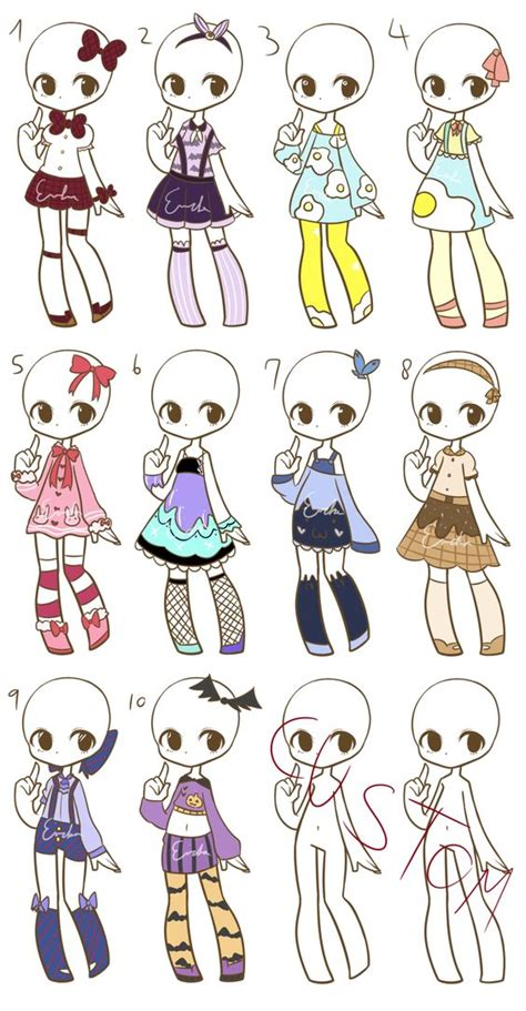 Chang E 3 Chibi Girl And Outfit On Pinterest How To Draw Chibi Boy Clothes Free