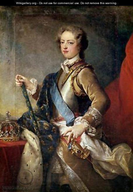 Louis XV 1710-74 - Jean Baptiste van Loo - WikiGallery.org ... K 1710