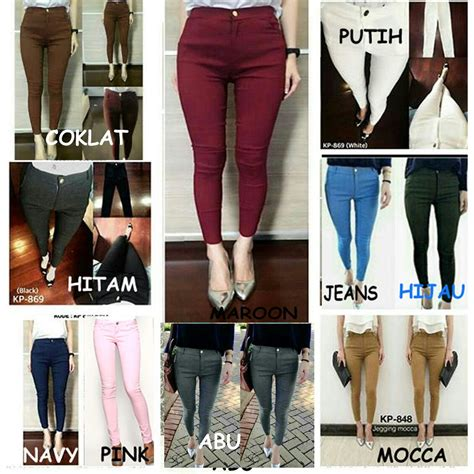 Jegging Import 3 jegging polos jegging strech standart fit to l polos basic legging import shopee indonesia