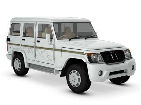 Mahindra Bolero Price in India, Specs, Review, Pics