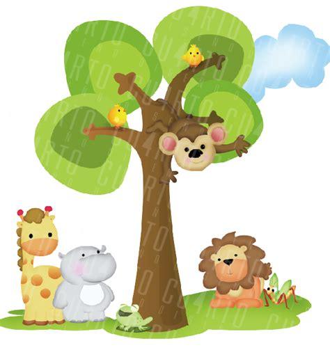 imagenes infantiles libres imagenes animales de la selva para baby shower imagui