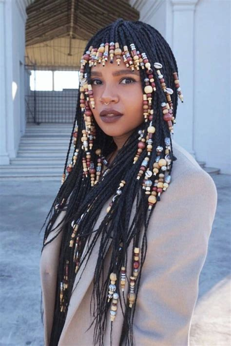 Braids with Beads Inspiration   Essence.com
