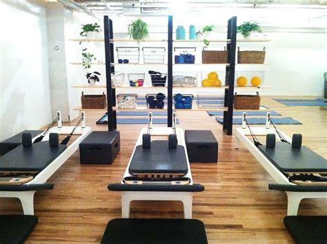 Home Pilates Studio Design Ideas A Contemporary Pilates Studio Opens Near Washington Square