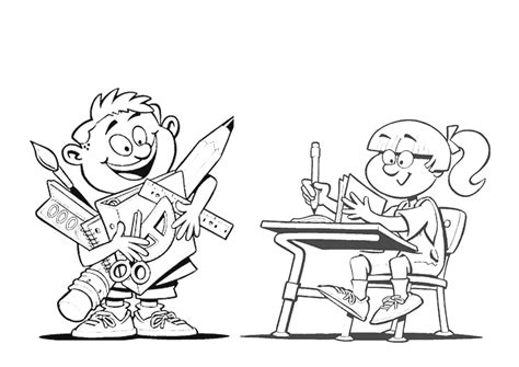 no school coloring page school drawings coloring page child coloring