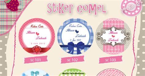 Stiker Kpop Custom Exosujubts Dll cenderahati perkahwinan katalog stiker