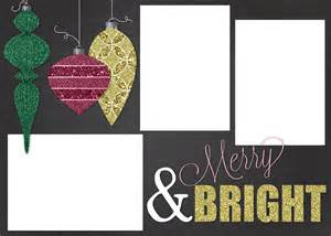Template Christmas Card Free Free Customizable Christmas Card Template A Houseful Of