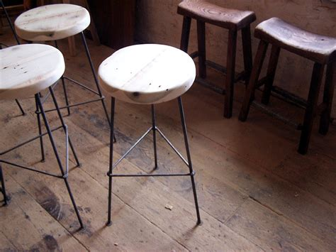 Repurposed Wood Bar Stools by Free Shipping Factory Style Reclaimed Wood Bar Stools With