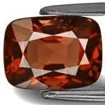 Garnet Birma Cutting 3 01 carat flawless orange cushion cut spinel from