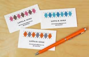 how do you make business cards 11 free printable business cards you can make at home