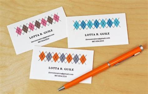 make name card 11 free printable business cards you can make at home