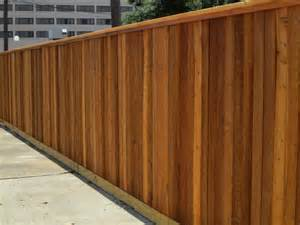 fence stain colors staining residential houston fence company