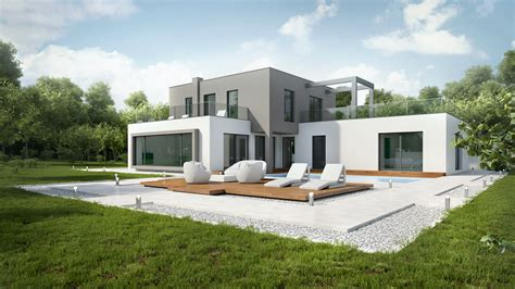 hausbau ideen dof 3d architectural renderings