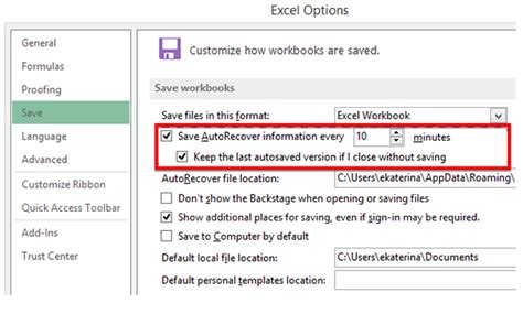 How To Restore An Unsaved Excel Document
