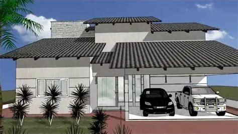desenho de casas desenho projeto sketchup casa 17