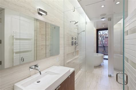 Greenwich Village Townhouse   Modern   Bathroom   new york