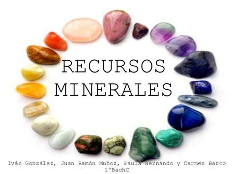 imagenes de minerales naturales recursos minerales