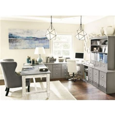 grey ballard office furniture home pretty workspaces