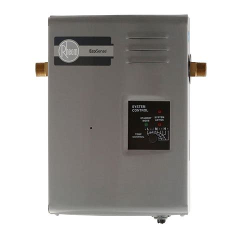 rheem rete 9 9kw 1 37 gpm point of use tankless electric