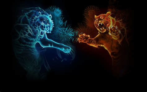 Kaos Dota 2 Glow In The Logo Pc War L2k 362 tiger wallpaper and background image 1600x998 id 247117