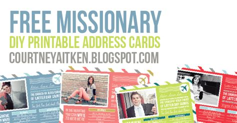 free prayer card templates missionaries all things bright and beautiful address cards