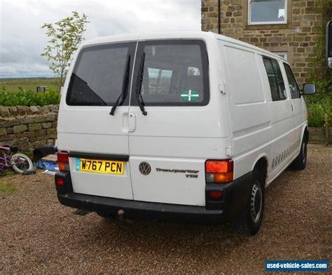 Volkswagen Tdi Diesel For Sale by 2000 Volkswagen Transporter For Sale In The United Kingdom