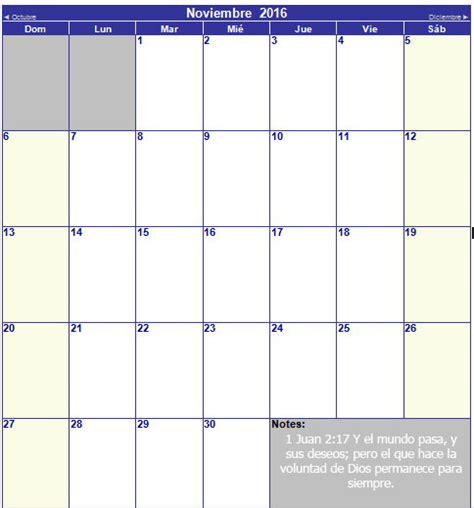 calendario 2016 mes a mes calendario cristiano 2016 mes a mes y completo imagenes