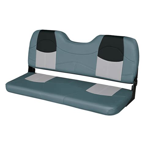 marine bench seats wise marine seating 48 quot bench seat charcoal gray black