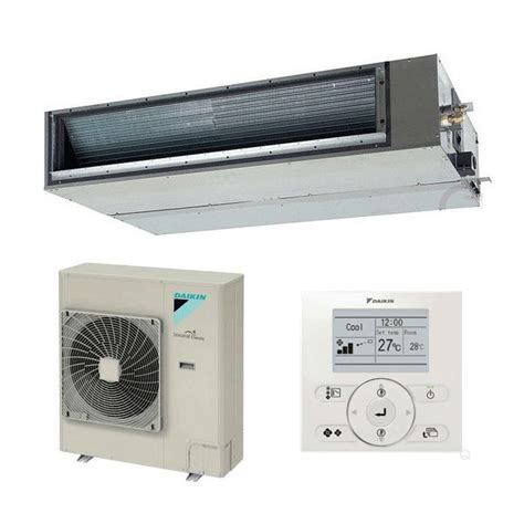 12 5kw mitsubishi electric ducted inverter changeover existing daikin fbq125c8 12 5kw ducted seasonal classic 240v 415v 50hz
